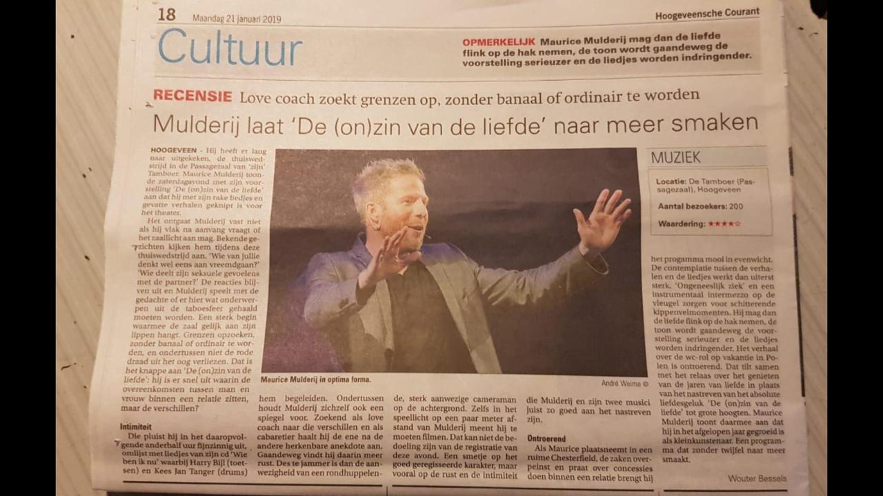 recensie krant
